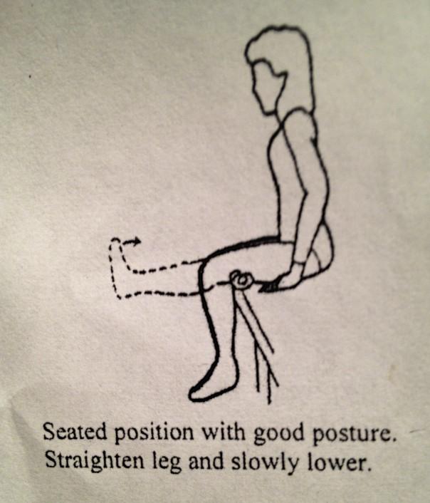 With good posture...